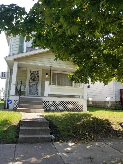 Columbus OH Single Family Home For Sale: $39,900