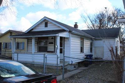 Columbus Single Family Home For Sale: 212 Stevens Avenue