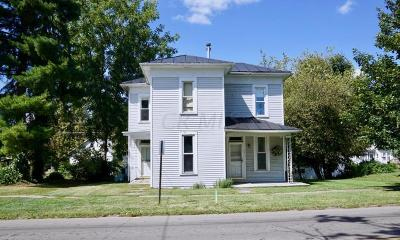 Centerburg Single Family Home For Sale: 70 W Main Street