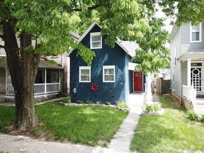 Columbus Single Family Home For Sale: 184 N 21st Street