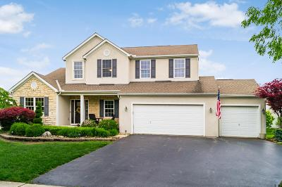 Hilliard Single Family Home For Sale: 6252 Tallowtree Drive