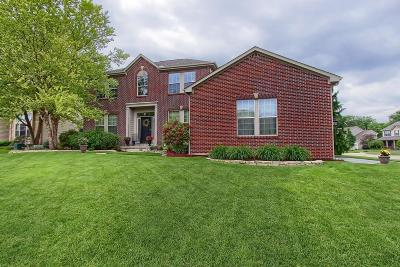 Lewis Center Single Family Home For Sale: 2525 Bold Venture Drive