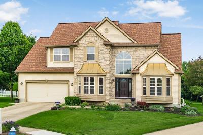 Hilliard Single Family Home For Sale: 5662 Maple Dell Court