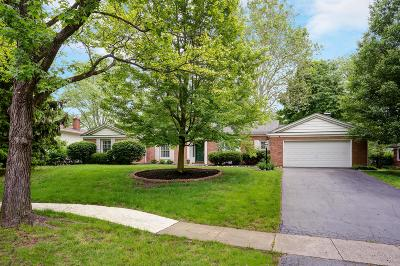 Upper Arlington Single Family Home For Sale: 4368 Donington Road