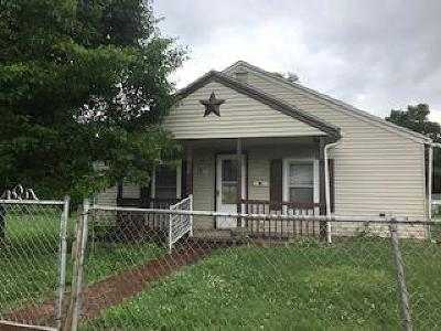 Chillicothe OH Single Family Home For Sale: $49,900