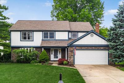 Westerville Single Family Home For Sale: 93 Spring Creek Drive