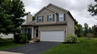 Dublin Single Family Home For Sale: 6321 Corley Drive