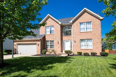 Westerville Single Family Home For Sale: 343 Mill Wind Court S
