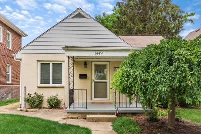 Columbus Single Family Home For Sale: 1449 Westwood Avenue