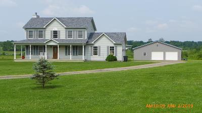 Circleville Single Family Home For Sale: 27889 Kime Holderman Road