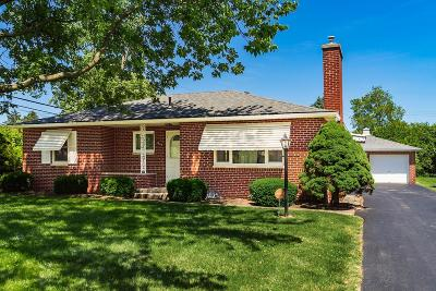 Upper Arlington OH Single Family Home For Sale: $275,000