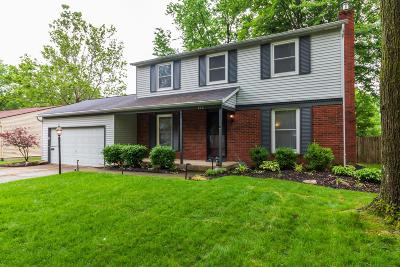 Columbus Single Family Home For Sale: 820 McDonell Drive
