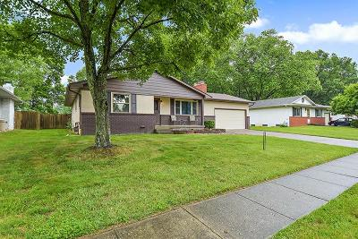 Columbus Single Family Home For Sale: 342 Hermitage Road