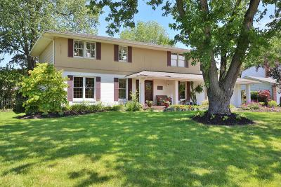 Columbus Single Family Home For Sale: 1272 Candlewood Drive