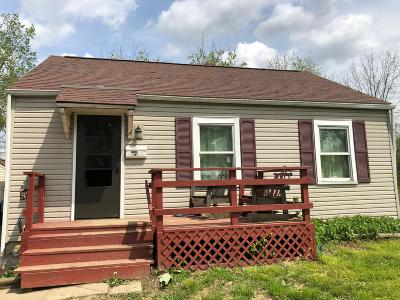 Columbus OH Single Family Home For Sale: $32,000