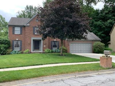 Gahanna Single Family Home For Sale: 897 Ludwig Drive