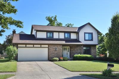 Westerville Single Family Home For Sale: 1282 Chatham Ridge Road