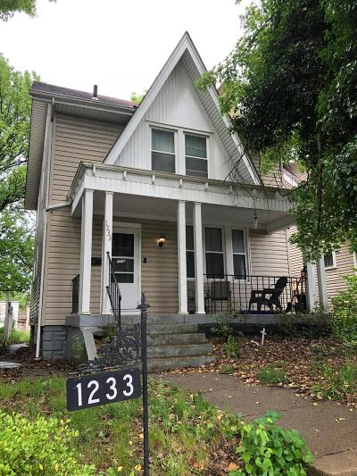 Columbus Single Family Home For Sale: 1233 Wilson Avenue