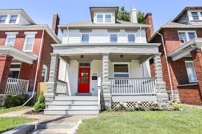 Columbus Single Family Home For Sale: 433 Saint Clair Avenue