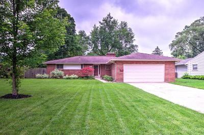 Columbus Single Family Home For Sale: 2325 McCoy Road