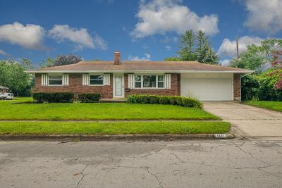 Columbus Single Family Home For Sale: 1271 Pershing Drive