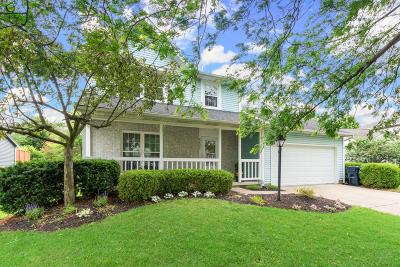 Hilliard Single Family Home For Sale: 5437 Edie Drive