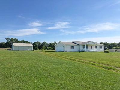 Fredericktown Single Family Home For Sale: 11878 Montgomery Road