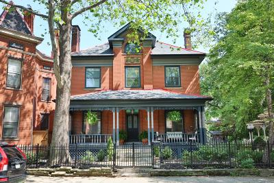 Columbus Single Family Home For Sale: 816 Franklin Avenue