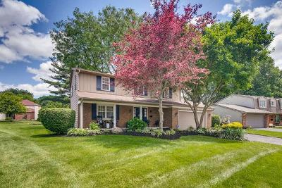 Worthington Single Family Home For Sale: 7012 Wethersfield Place
