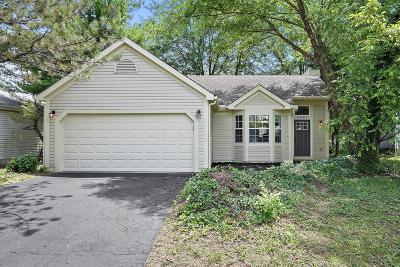 Columbus Single Family Home For Sale: 7682 Traphill Court