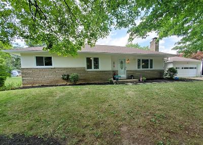 Hilliard Single Family Home For Sale: 3860 Schirtzinger Road