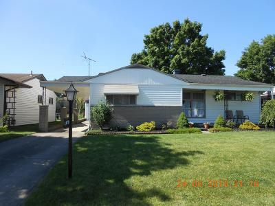 Columbus OH Single Family Home For Sale: $124,800