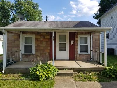 Newark Single Family Home For Sale: 831 Jones Avenue