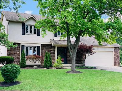 Westerville Single Family Home For Sale: 684 Olde Mill Court