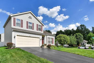 Blacklick Single Family Home For Sale: 550 Sharar Field Drive
