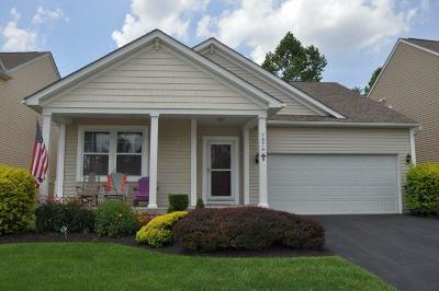 Blacklick Single Family Home For Sale: 7874 Waggoner Trace Drive