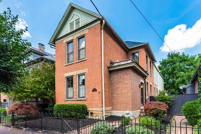 Columbus Single Family Home For Sale: 324 E Sycamore Street