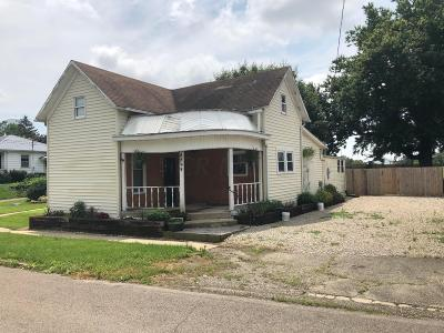 Rushville Single Family Home For Sale: 8599 Main Street