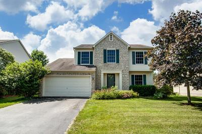 Hilliard Single Family Home For Sale: 5777 Jasonway Drive