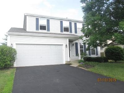 Reynoldsburg Single Family Home For Sale: 8997 Coral Canyon Circle