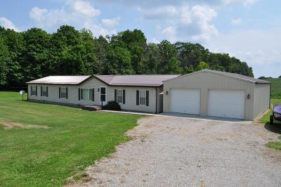 Thornville Single Family Home For Sale: 10380 Bruno Road