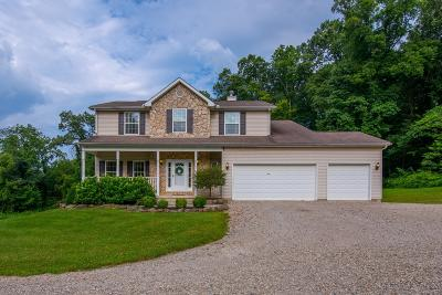Thornville Single Family Home For Sale: 10884 Roley Hills Road
