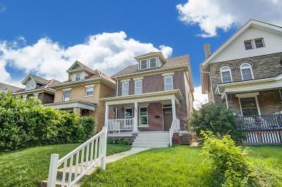 Columbus Single Family Home For Sale: 398 Woodland Avenue