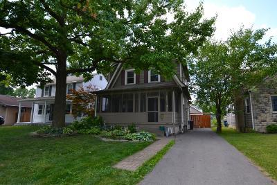 Columbus Single Family Home For Sale: 805 Montrose Avenue