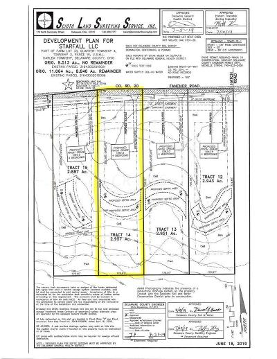 Westerville Residential Lots & Land For Sale: Fancher Road #Tract 14
