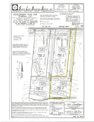 Westerville Residential Lots & Land For Sale: Fancher Road #Tract 16