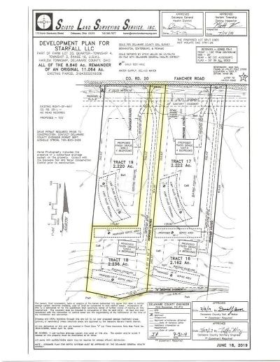 Westerville Residential Lots & Land For Sale: Fancher Road #Tract 18