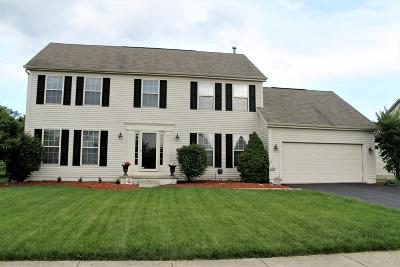 Pickerington Single Family Home For Sale: 12960 Bentwood Farms Drive