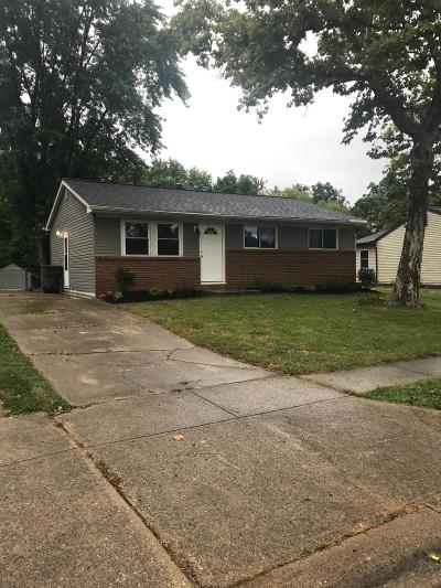 Columbus Single Family Home For Sale: 3036 Wallingford Avenue