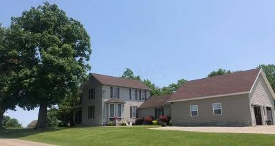 Fairfield County, Pickaway County, Ross County Single Family Home For Sale: 3378 Sulphur Spring Road